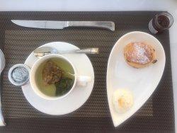 Camomile Tea and Scone