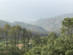 View of teh valley