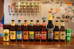 Enjoy our beers on draft and take your favorites to go!