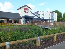 Brewers Fayre attached to Hotel