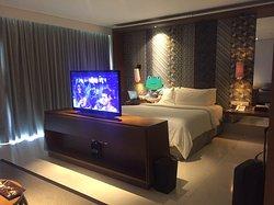 Comfortable bed, good sleep - quiet area