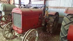 More vintage tractors.