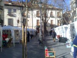 Exposicion Pintores Plaza Conde Barajas