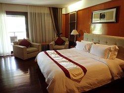 リゾート内と部屋の雰囲気が良い
