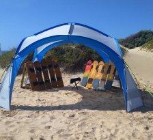 Sandboarding Jeffreys Bay - Wacky Wipeouts