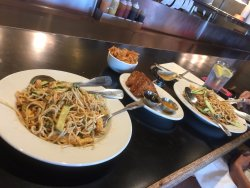 Recent May visit has 2 Mein Mein Salads with extra Peanut Sauce & Shrimp Toast order!