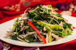 1.9 Салат из куриного филе со шпинатом