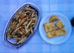 Saganaki und die leckeren Knoblauch Kartoffeln