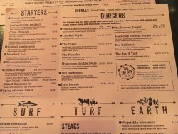 Menu as there isn't a website, hope this helps