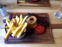 Sirloin steak - excellent