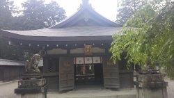 水口神社拝殿