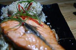 Sushido's Salmon Teriyaki