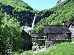 Waterfall of Foroglio