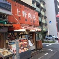 Higashi Ueno Korean Town