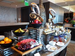 Complimentary Food at Executive Club Lounge in 28th floor