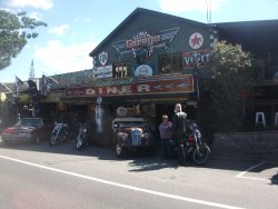 The diner in Palmwoods, our lunch stop
