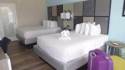 Mooi hotel, vriendelijk personeel, vlakbij het strand!