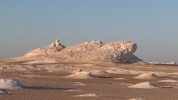 White mountain desert