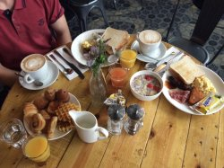 International breakfast