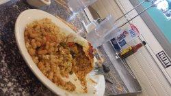 Fish burrito plate