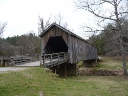 Auchumpkee Creek Covered Bridge