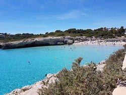 Cala Domingos beach - 10-15min walk!