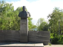 A.N.Tupolev Monument