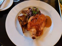 Really satisfying roast chicken in a sublime sauce!