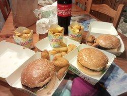Hamburger favolosi a prezzi bassissimi