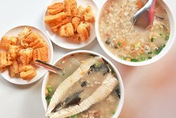 A Tang Salty Rice Congee