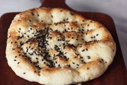 PIDE EKMEGI- All time favorite bread with sesame