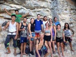 Phi Phi Climbers