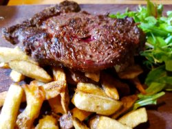 Stunning ribeye steak!