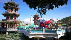 Lotus Lake Erawan Shrine