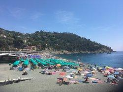 Spiaggia a Bonassola Liguria