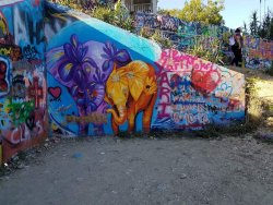 Graffiti Park at Castle Hills