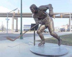 Tim Horton's Statue