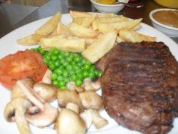 Steak Dinner & a Drink 10.00