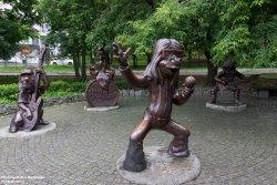 Скульптура Бременские музыканты