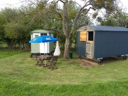 New Farm Shepherds Huts & Camping