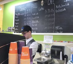 Buzz Cafe in Chatham Marketplace