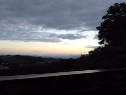 Vista linda!! As cores no horizonte...pôr do sol