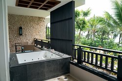 Balcony of Seaview Suite with Jacuzzi