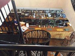 Mute Swan bar from upstairs