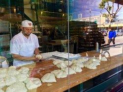 Best clam chowder and sourdough bread