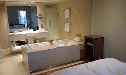 Relaxation Room open bathroom
