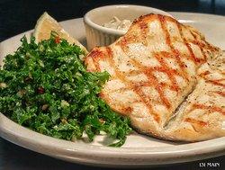 North Carolina Rainbow Trout with Kale Salad