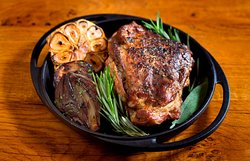 La Trattoria - Roasted lamb with herbs