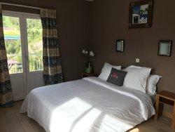Chambre avec terrasse vue pistes