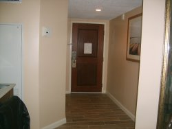room entrance from inside